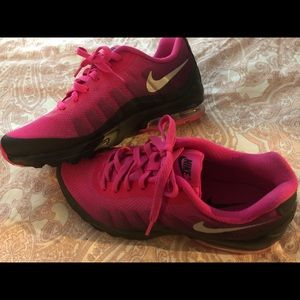 Pink & black Nikes